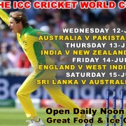 ICC Cricket Live Clubhouse Steak Grill Bar Sanur Bali