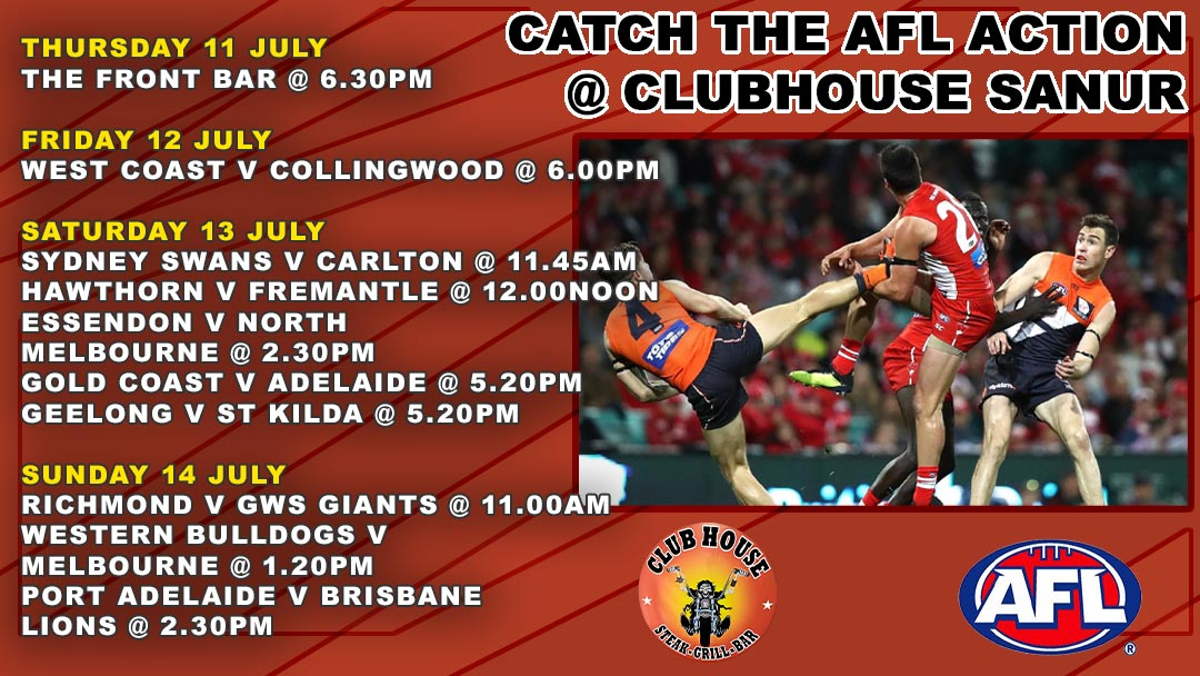 Come Catch AFL Action in Bali