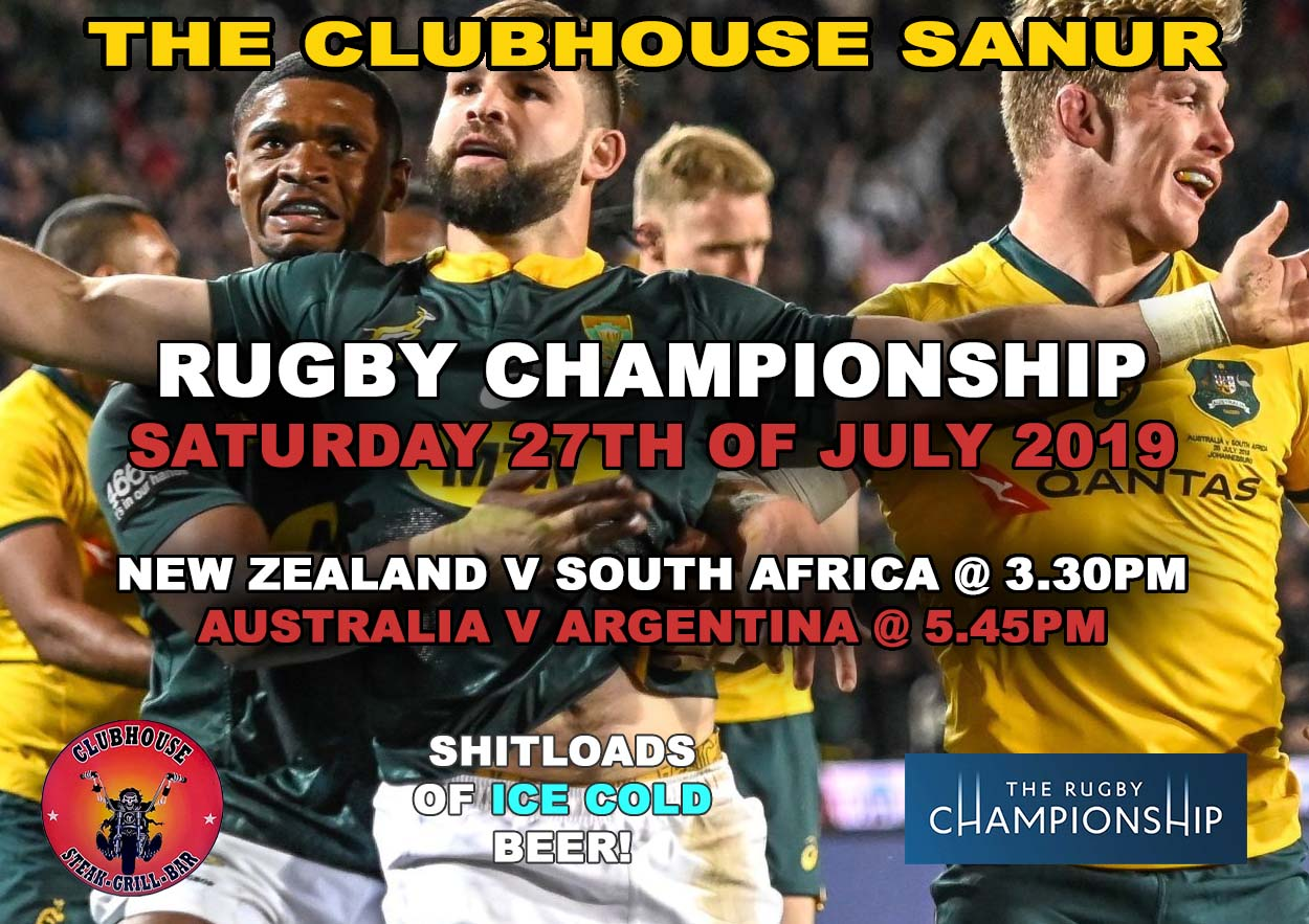 Clubhouse Sanur Sports Rugby Championship