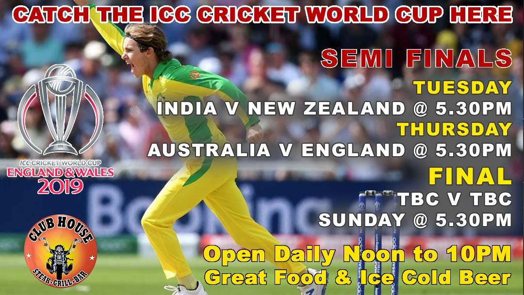 ICC Cricket World Cup 2019 SEMI FINALS LIVE