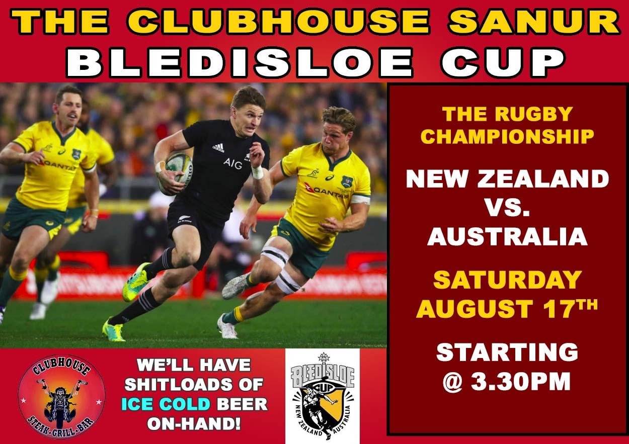 Clubhouse Sanur Sports Bledisloe Cup 2019