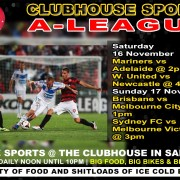 Clubhouse Steak Grill & Bar Sanur Hyundai A-League
