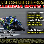 Clubhouse Steak Grill & Bar Sanur Valencia MOTO GP