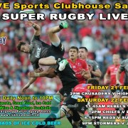 LIVE SPORTS SUPER RUGBY in BALI