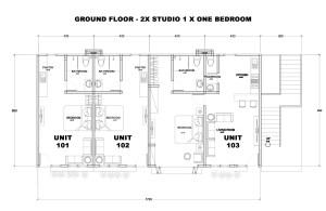 Ground Floor - Clubhouse Bali Condos - Floor Plans