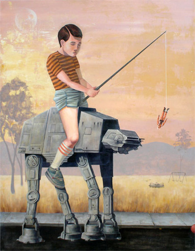 IMAGE: AT-AT at the Playground by Casey Weldon