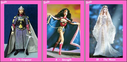 TEASER: The Barbie Tarot