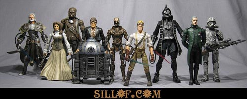 IMAGE: Sillof's Steampunk SW action figures
