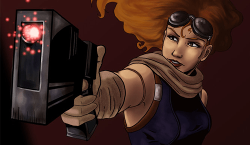 FAN ART: Mara Jade by Rockie-Roade @ deviantart