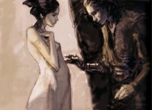 Anakin and Padme by Iain McCaig