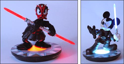 Disney Crossover figures