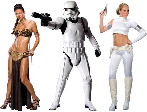 SW Halloween Costumes from StarWarsShop.com