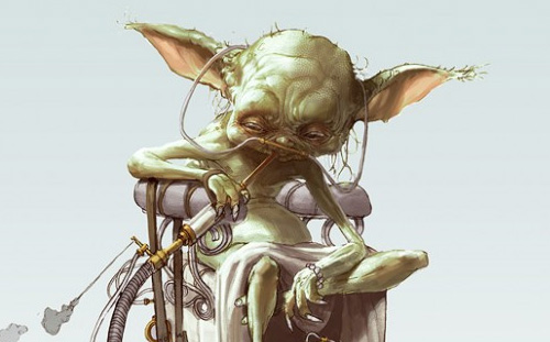 Steampunk Yoda by Björn Hurri / Used with permission