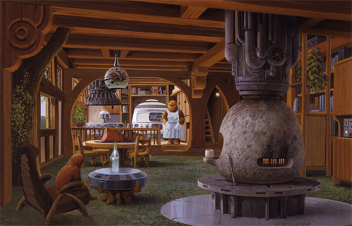 Holiday Special concept art by Ralph McQuarrie