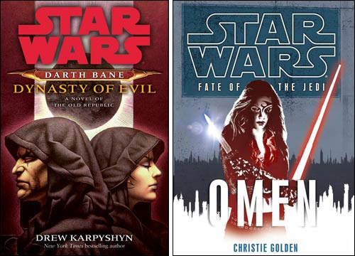 Covers for FOTJ; Omen and Dynasty of Evil