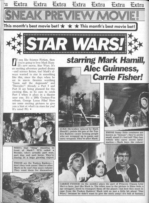 OMG! STAR WARS!
