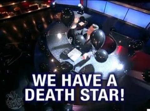 We got Death Star! We got Death Star!