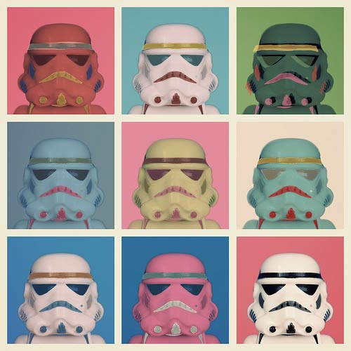 Warhol Troopers by balakov @ flickr / CC BY-NC 2.0