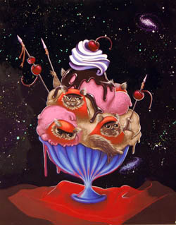 This is Relevant to Our Interests: Allison Bamford's 'Ewok Sundae'
