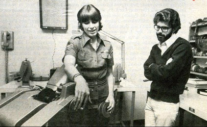 Marcia and George Lucas