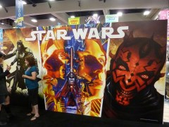 Dark Horse booth at SDCC 2012