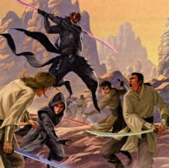 Force Wars image from The Jedi Path.