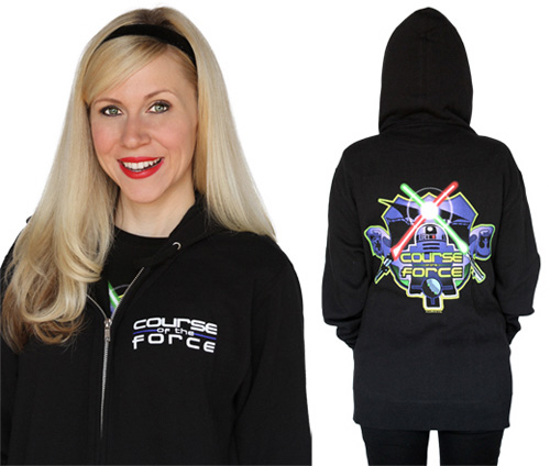 Her Universe's Course of the Force hoodie