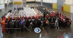 @starwars: A most impressive gathering of @501stLegion members at #StarWarsCelebration!