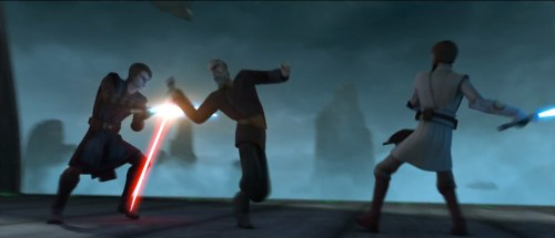 TCW: Lost Missions Trailer #1 (Dooku tag-teamed)