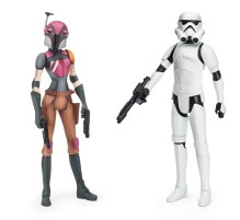 Hasbro Rebels: Sabine + stormtrooper