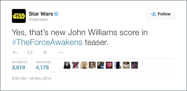 #StarWars Tweets Special Edition: #TheForceAwakens teaser trailer (Part 1)