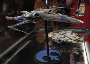 Resistance X-wing and Millennium Falcon