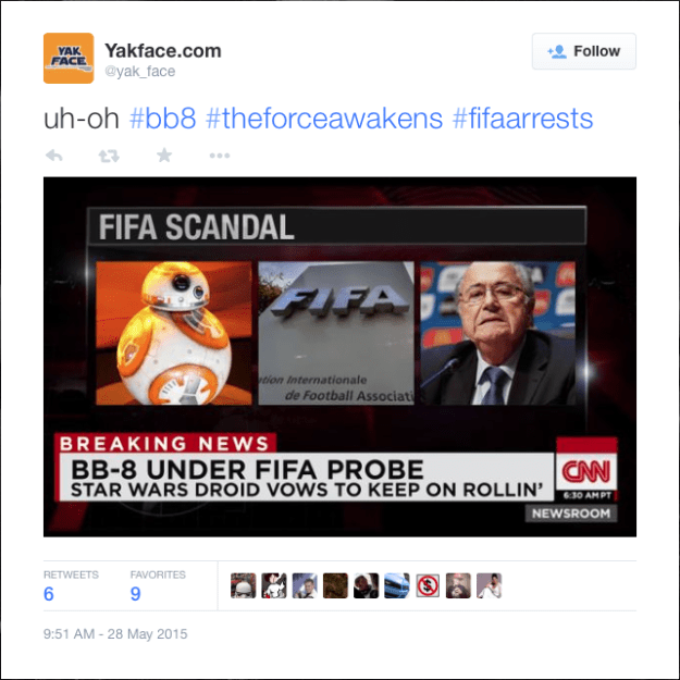@yak_face: uh-oh #bb8 #theforceawakens #fifaarrests