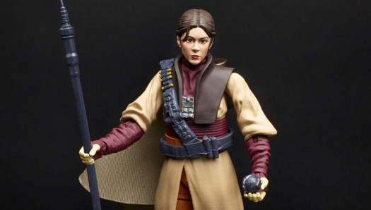 """A Leia in Boushh disguise is one of the few women featured in the 6"""" Black Series line so far."""
