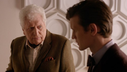 Tom Baker with Eleventh Doctor Matt Smith in 2013's 'The Day of the Doctor'
