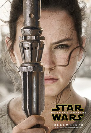 Rey (TFA character poster)
