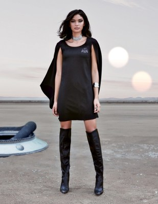 Darth Vader cape dress. (Available now.)