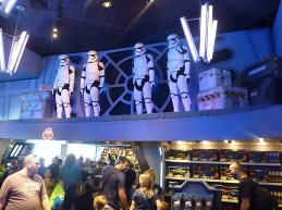 The First Order has taken over the store