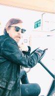 Mark steals a golf cart #beardwatch
