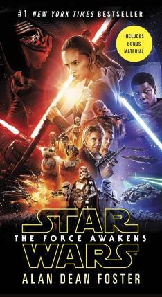 The Force Awakens novelization (PB)