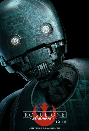 Rogue One poster (K-2SO)