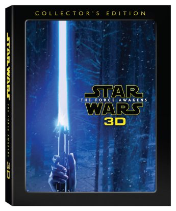 The Force Awakens 3D Collector's Edition