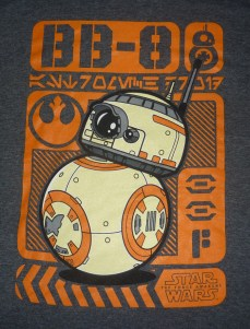 Funko Pop! Tees Limited Edition BB-8 Poster tee