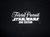 SDCC 2004 exclusive Trivial Pursuit Star Wars DVD Edition tee