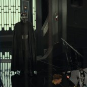Kylo, capes, helmeted. ()TLJ BTS)