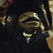 Happy frog guy. (TLJ BTS)