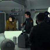 Finn, Rose and Poe (TLJ BTS)