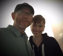@RealRonHoward: @emiliaclarke has wrapped filming on #UntitledHanSoloMovie. She's given us a terrifically strong & exciting character. Fun 2 work with, 2!