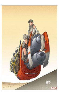 The Last Jedi #1 (Quesada variant)