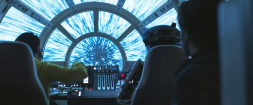 Off to hyperspace